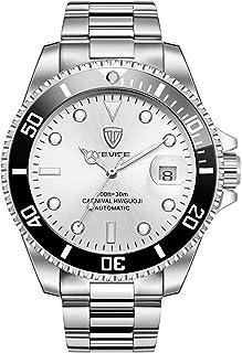 Swiss Luminous Submariner Watch Men's Automatic Mechanical Watch Fashion Stainless Steel Waterproof Watch
