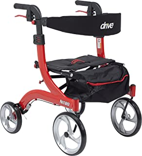 Best drive medical nitro euro style walker rollator, hemi height Reviews