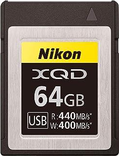 Nikon VWC00101 XQD 64GB Professional Memory Card (Up to 440MB/s Read & 400MB/s Writing)