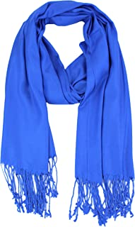 Large Solid Color Pashmina Shawl Wrap Scarf 80