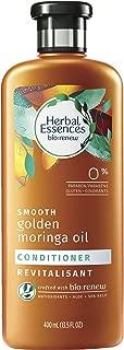 Herbal Essences Biorenew Smooth Golden Moringa Oil Conditioner, 13.5 fl oz (Pack of 2)