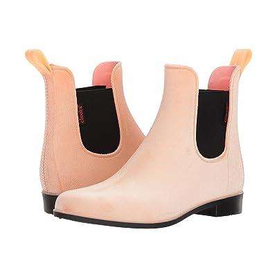 Chooka Vivien Velvet Chelsea Boot (Blush) Women