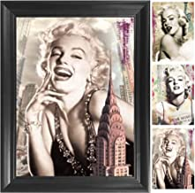 Vintage Marilyn Monroe 3D Poster Wall Art Decor Framed Print | 14.5x18.5 | Lenticular Posters & Pictures | Memorabilia Gif...