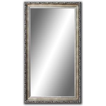 Badezimmerspiegel Antik.60 Cm X 40 Cm Spiegel Mit Rahmen Badezimmerspiegel Antik Alte Spiegel Handgefertigte Stabiler Ruckwand Rahmenleiste 60 Mm Breit Und 45 Mm Hoch Rahmen Farbe Gold Silber Amazon De Kuche Haushalt