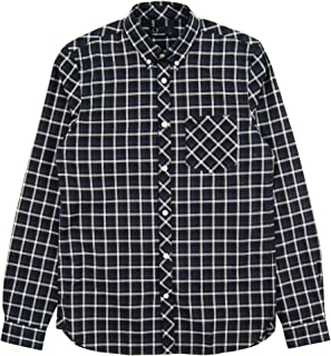 Fred Perry Mens FOUR COLOUR GINGHAM SHIRT Shirts