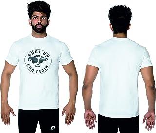 DK ACTIVE WEAR Men's Hulkman Gym Bodybuilding Muscle T- Shirt Weight-training Athletic half Sleeve Gym T-shirt Activewear Tee