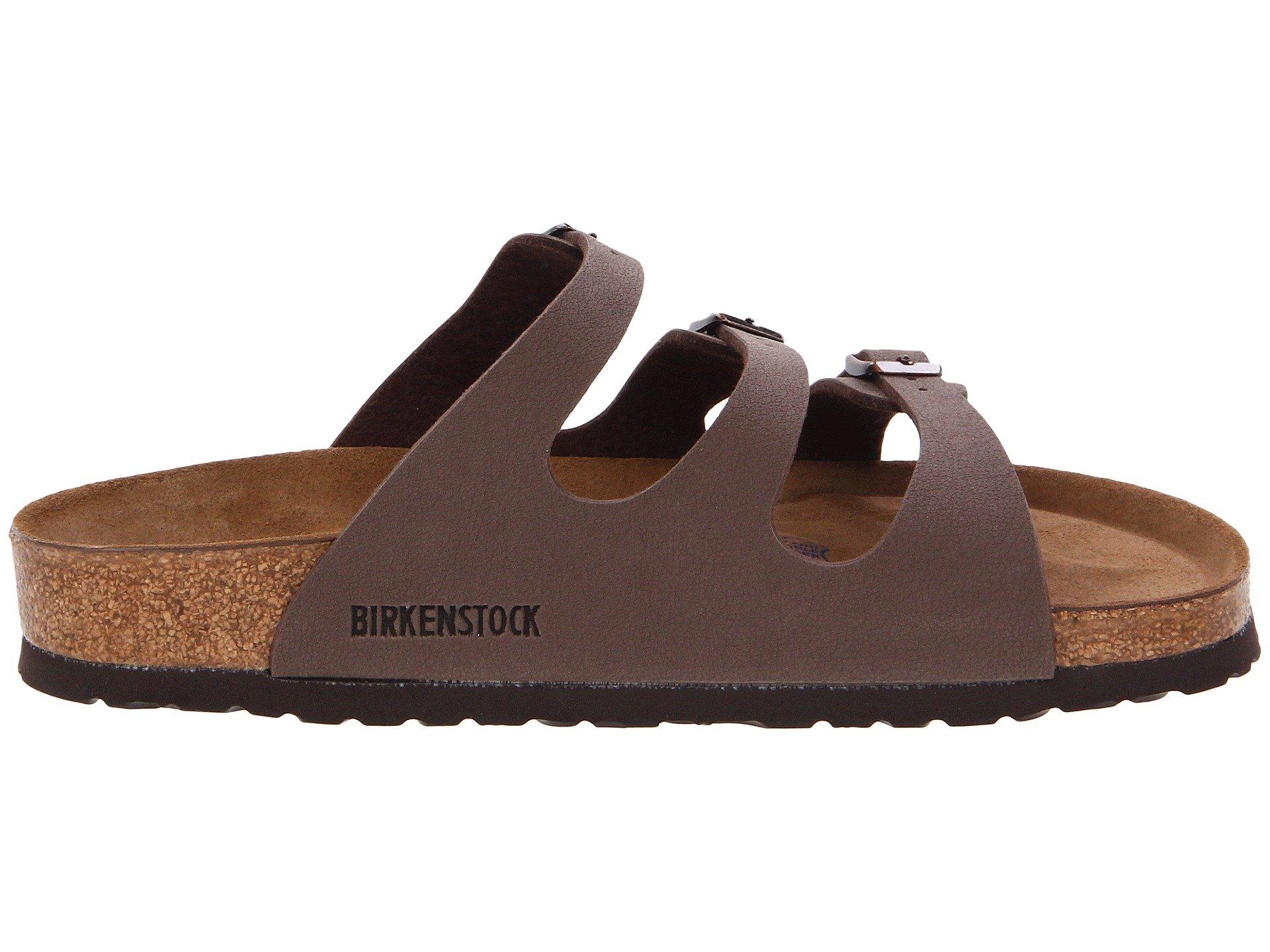 Birkenstock Florida Soft Footbed Birkibuc At Zappos Com