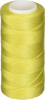 Iris Nylon Crochet Thread, 275-Yard, Yellow