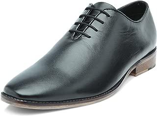 Heels & Shoes Men's Wholecut Oxford Black Natural Leather Shoes