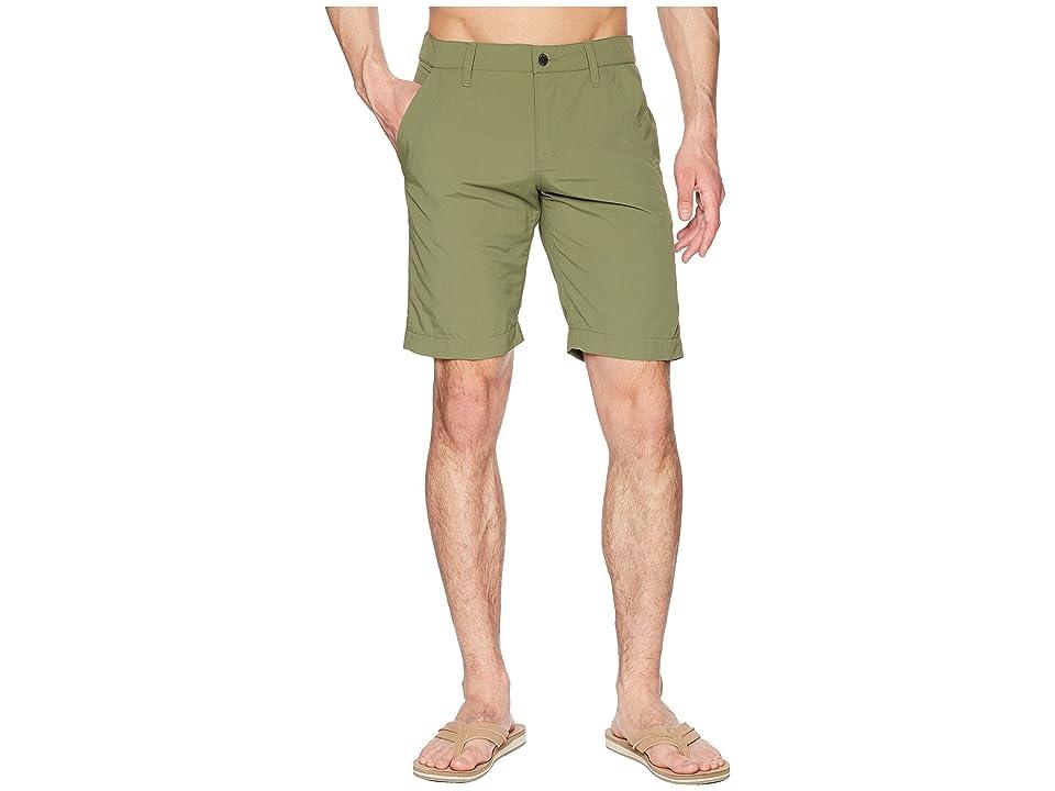 Jack Wolfskin Desert Valley Shorts (Woodland Green) Men