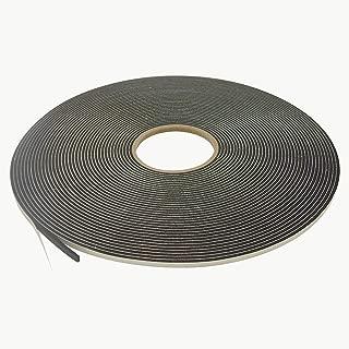J.V. Converting SCF-01/BLK125025 JVCC SCF-01 Single Coated PVC Foam Tape: 1/8