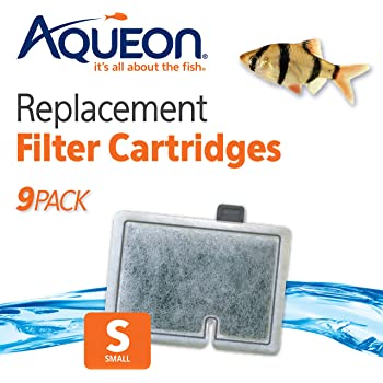 Aqueon Replacement Filter Cartridges Small - 9 Pack