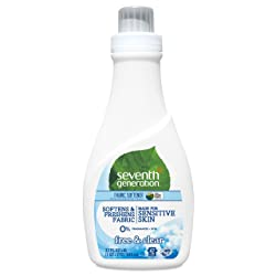Seventh Generation Fabric Softener, Free and Clear, 32 oz