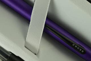 Cross Limited Series Tech 2 Purple Violet Dual-personality Pen with two replacement stylus Tops and two cross bonus refill in blue and black colors