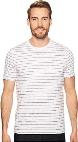 Perry Ellis - Space Dye Striped Crew