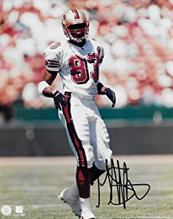 JJ Stokes San Francisco 49ers signed autographed, 8x10 Photo, COA will be included'