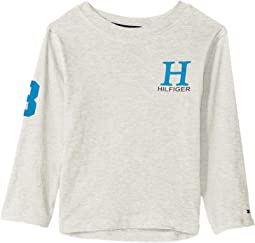 Tommy Hilfiger Kids - Matt-Bex Jersey Long Sleeve Tee (Big Kids)
