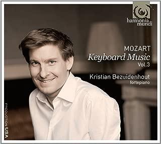 モーツァルト:ピアノ作品集 Vol.3 Mozart : Keyboard Music Vol.3 / Kristian Bezuidenhout, fortepiano  輸入盤・日本語解説書付