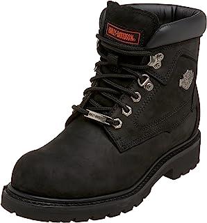39d398e897d5 Harley-Davidson Wolverine Men s Badlands 6-Inch Black Boots D91005
