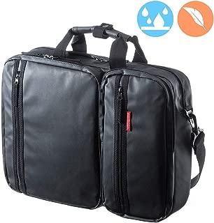 SANWA (Japan Brand) 15.6 inch Laptop Computer & Tablet Bag, Expandable Business Briefcases, Messenger Bag, Water Resistance,Handbag Shoulder Travel Backpack, Lightweigh for MacBook Dell HP Men Women