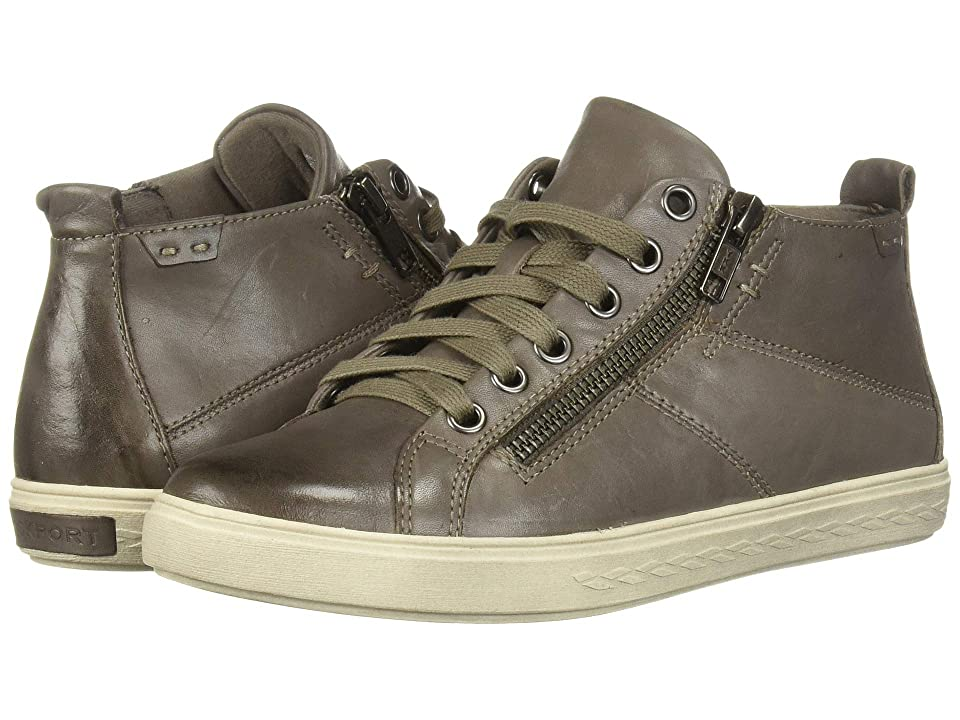 Rockport Cobb Hill Collection Cobb Hill Willa High Top (Grey Leather) Women