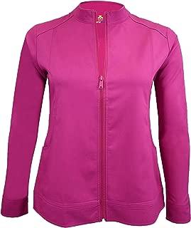 Natural Uniforms Women's Ultra Soft Front Zip Warm-Up Scrub Jacket