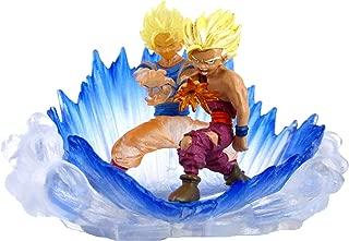 Bandai Dragonball Z Gashapon HG 10 Mini Figure- Super Saiyan 2 Goku Vs Gohan