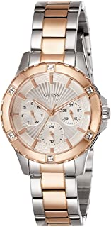 Guess Fashion Women's Silver Dial Stainless Steel Band Watch - W0443L4