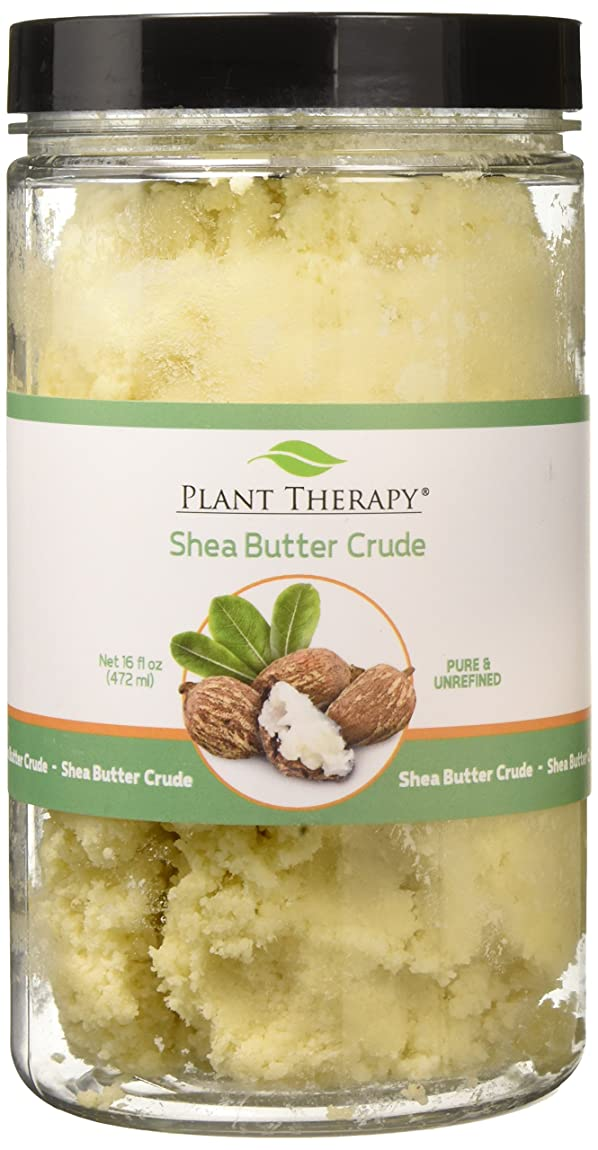 研究支払い脈拍植物セラピーシアバター原油。ローション、クリーム、バームや石鹸のための理想。 16オンス