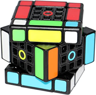 FangShi LimCube Dual 3x3x3 Cube - Professional Twist Cube Puzzles, IQ Challenge Brainteaser Puzzle, Perfect for Gifts & Collection (1.0)