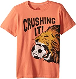 Life is Good Kids - Crushing It Soccer Crusher Tee (Little Kids/Big Kids)
