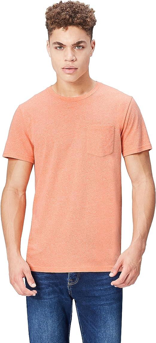 find Marque T-Shirt en Coton Poche Poitrine Homme