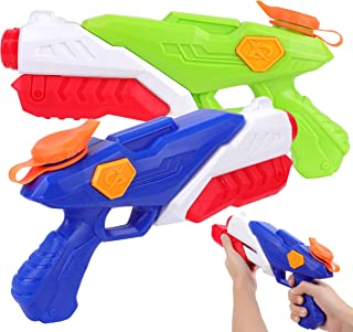 PhyPa 2 Pack Water Guns for Kids Water Soaker Blaster Toys for Girls and Boys Children Summer Swimming Pool Beach Sand Out...