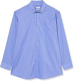 seidensticker Men's Seidensticker Men's Long-Sleeved Classic Long Sleeve Formal Shirt Dress Shirt