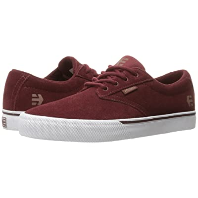 etnies Jameson Vulc (Burgundy/Tan/White) Women