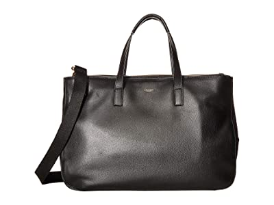 KNOMO London Mayfair Luxe Derby Tote (Black) Tote Handbags