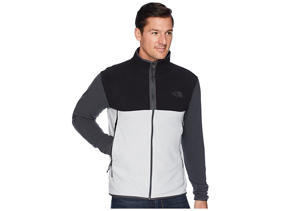 The North Face Glacier Alpine Jacket (High-Rise Grey/TNF Black/Asphalt Grey) Men