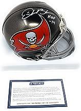 Derrick Brooks Tampa Bay Buccaneers Signed Autograph Mini Helmet HOF Inscribed Steiner Sports Certified