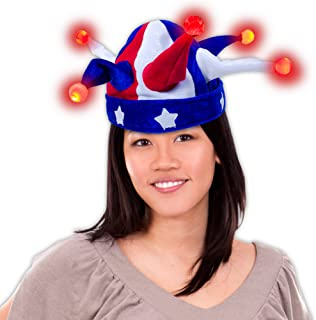 Best blue and white jester hat Reviews
