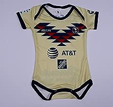 Soccer Club America Baby Jersey Baby Jumpsuit Bodysuit Futbol Liga MX
