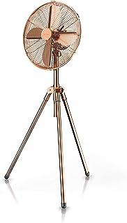 Brandson 722303830722 - Ventilador de pie (cobre, 3 patas, 50 W)