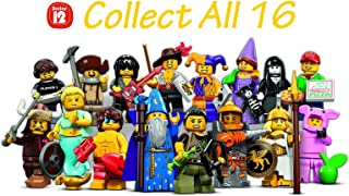 LEGO Series 12 Collectible Minifigures 71007 - Complete Set of 16