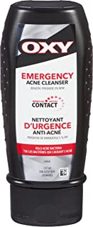 OXY Emergency Acne Vanishing Facial Cleanser with Benzoyl Peroxide, For Inflamed Acne, 177ml