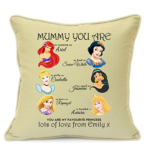 Personalised Presents Gifts For Mum Mummy Mother Mothers Day Birthday Christmas Disney Princess Ariel Cinderella Jasmine