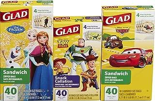 Best character sandwich bags Reviews