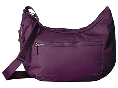 Hedgren Junket Large Crossbody with RFID Pocket (Purple Passion) Cross Body Handbags