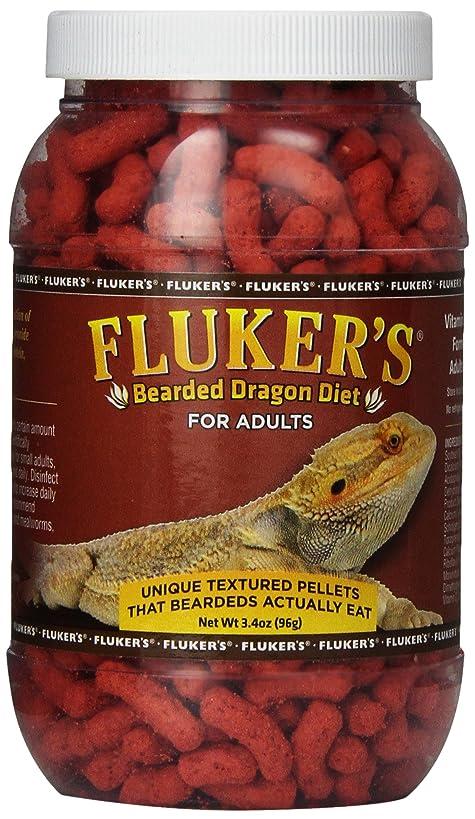 Fluker Labs SFK76021 Adult Bearded Dragon Diet Food, 3.4-Ounce