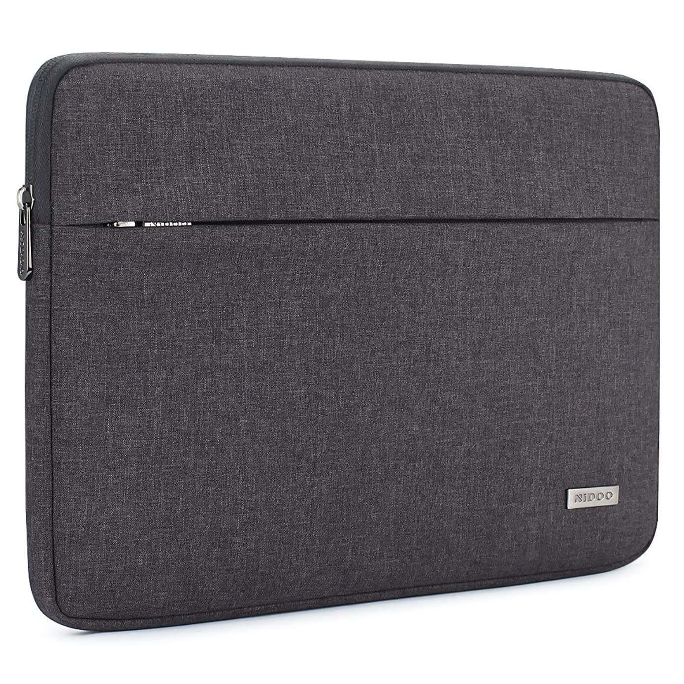 NIDOO 14 Inch Laptop Sleeve Case Water-Resistant Portable Computer Carrying Hand Bag Pouch for 13.5