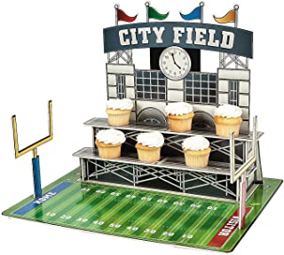 Large Football Stadium Cupcake Holder - Party Supplies