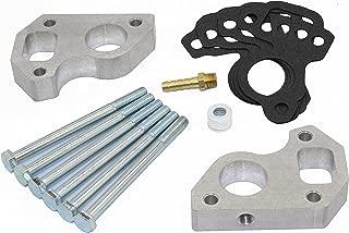 LSX Innovations WP11 Billet Aluminum water pump spacers for LS1 Camaro/Truck Swap w/steam port